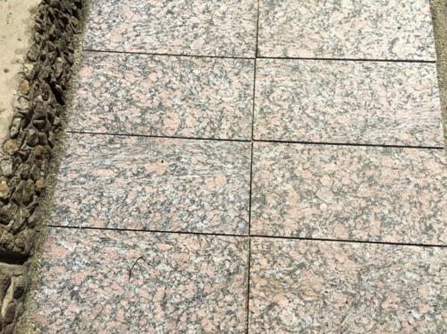 płyty płomieniowane- granit DOMINO